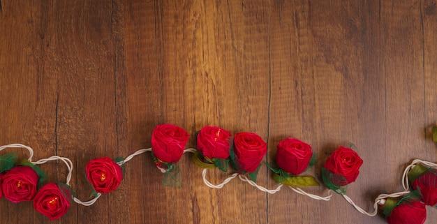 Affection romantique valentine symbole bois