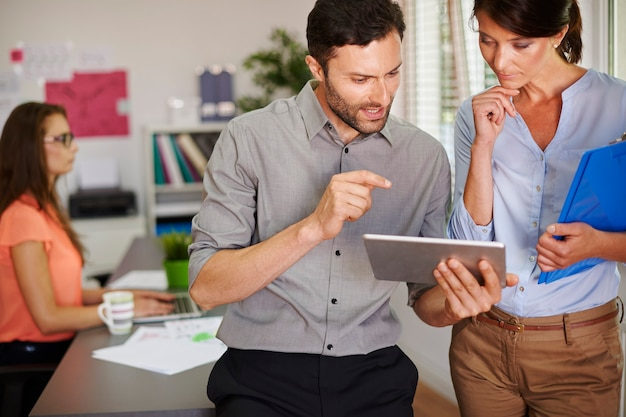 L'affichage numérique facilite notre travail