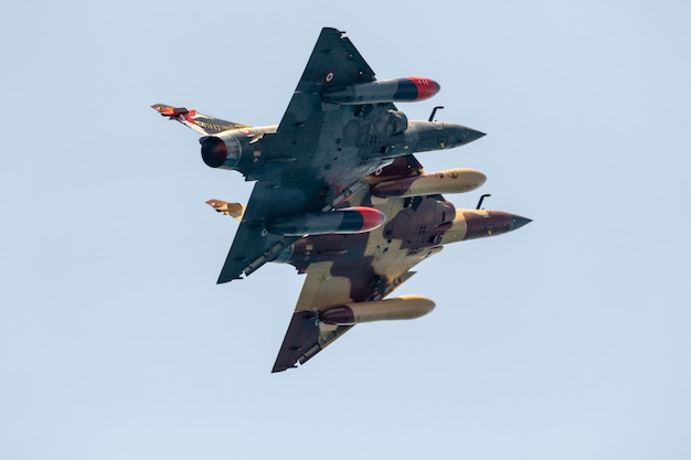 Affichage tactique des avions mirage du delta couteau
