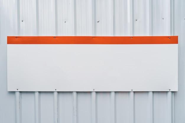 Affiche de panneau d'affichage vide dans le grand magasin