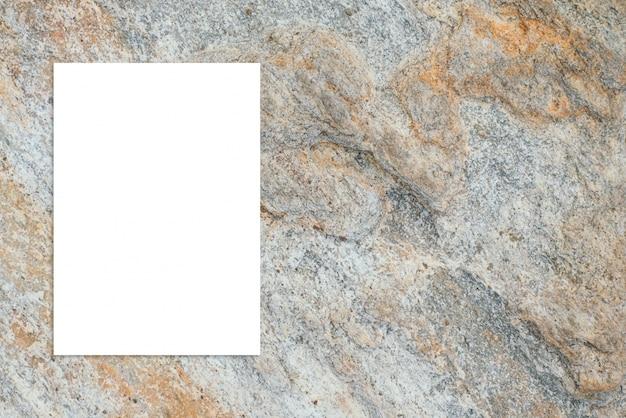 Affiche top rétro extérieur en pierre