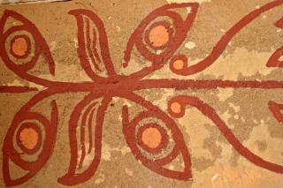 African motif tribal