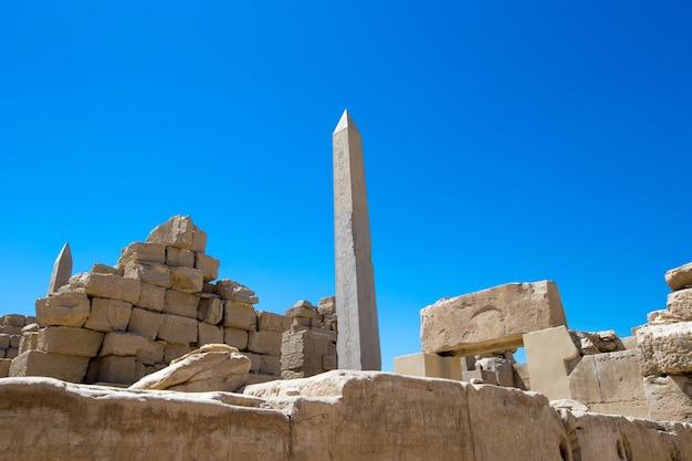 Afrique, egypte, louxor, temple de karnak
