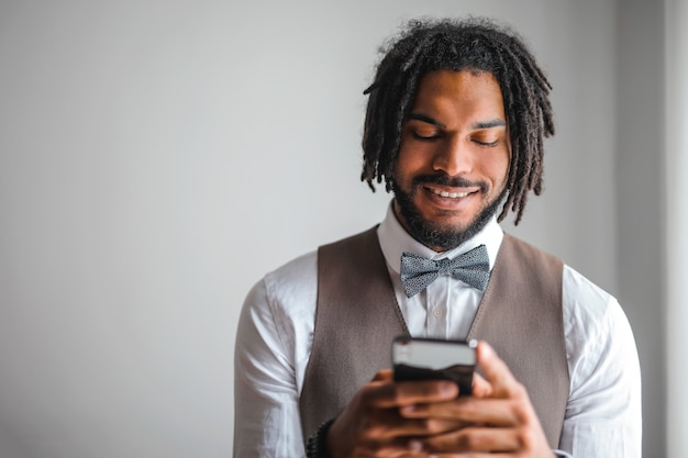 Afro guy textos