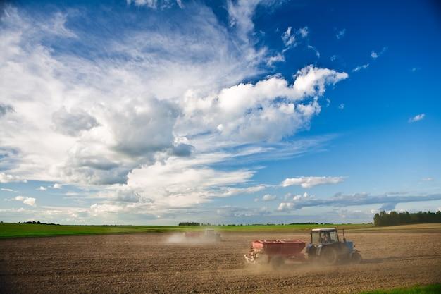 L'agriculture de plein champ