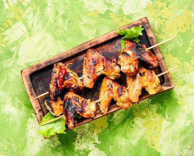 Ailes de poulet au four