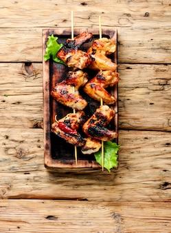 Ailes de poulet à la croûte croustillante