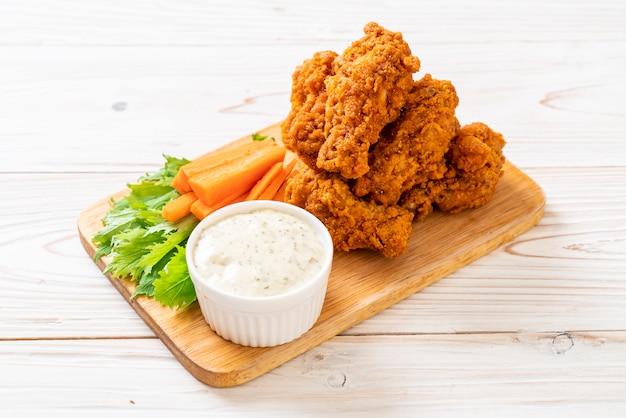 Ailes de poulet épicées frites