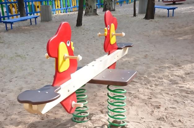 Aire de jeux pour enfants dans la rue pour jeux éducatifs