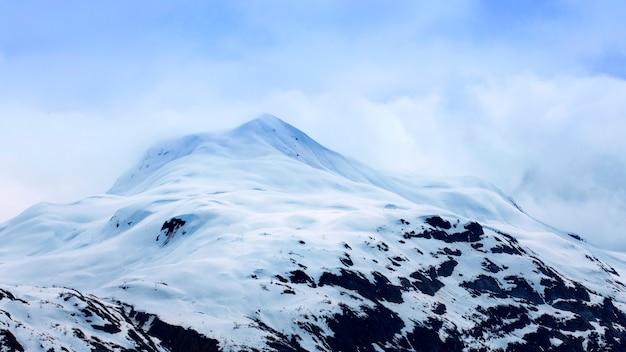 Alaska, états-unis, glacier bay, parc national, majestueux, pic de glace
