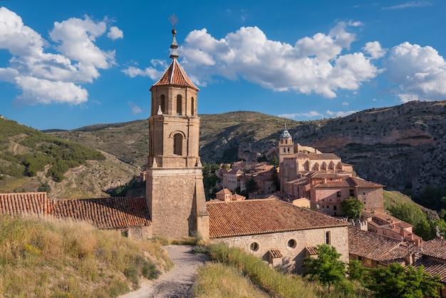 Albarracin, village médiéval à teruel, en espagne.