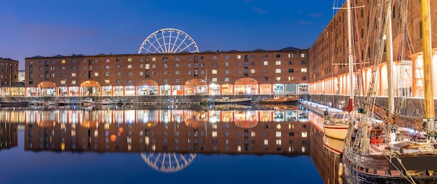 Albert dock liverpool angleterre