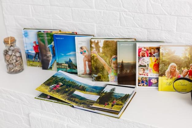 Album photo de famille sont dans le salon, livres photo