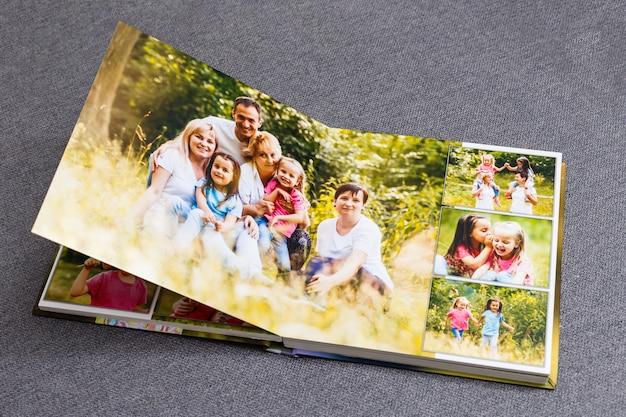 Album photo de famille, week-end de printemps