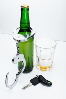Alcool et clés de voiture