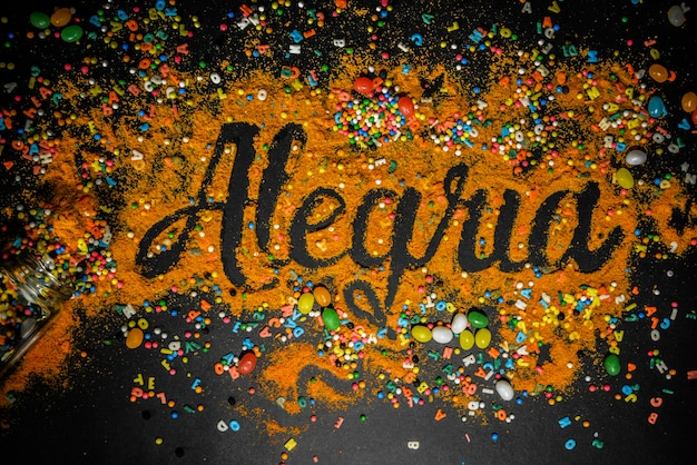 Alegria & happy