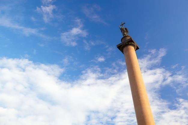 Alexander column à saint-pétersbourg.