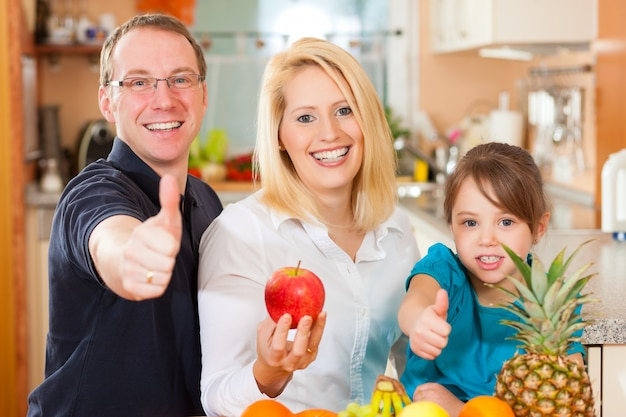 Alimentation familiale et saine
