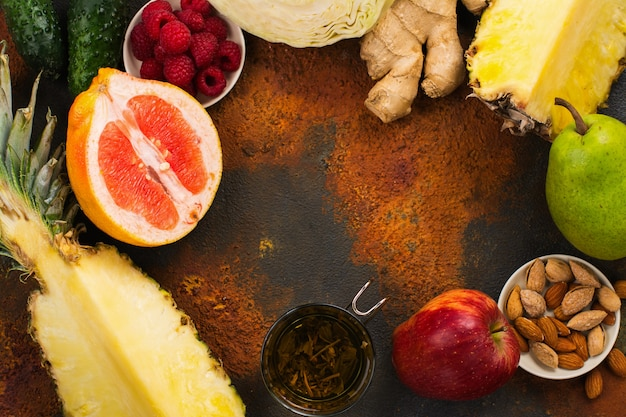 Alimentation saine pour brûler les graisses