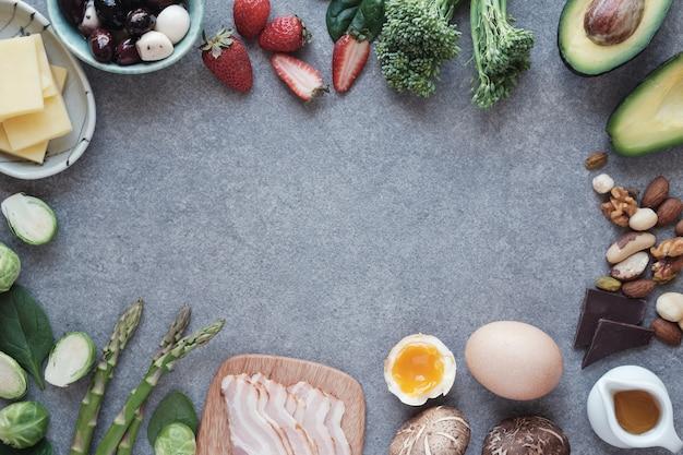 Aliments diététiques cétogènes