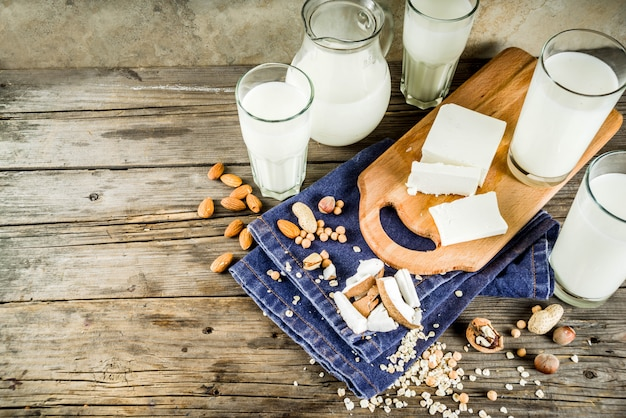 Aliments non laitiers