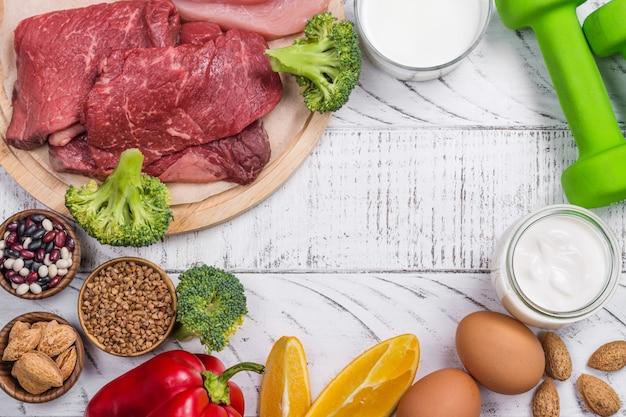 Aliments pour la construction des muscles