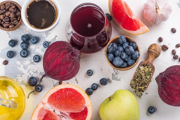 Aliments pour le foie en bonne santé