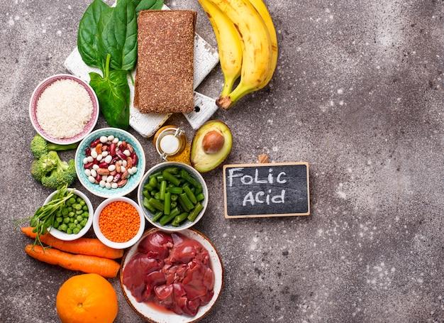 Aliments riches en acide folique