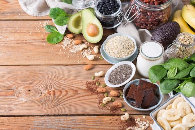 Aliments riches en magnésium alimentation saine et régime