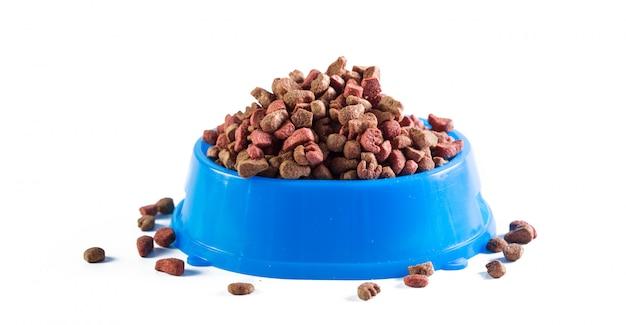 Aliments secs pour chiens isolés