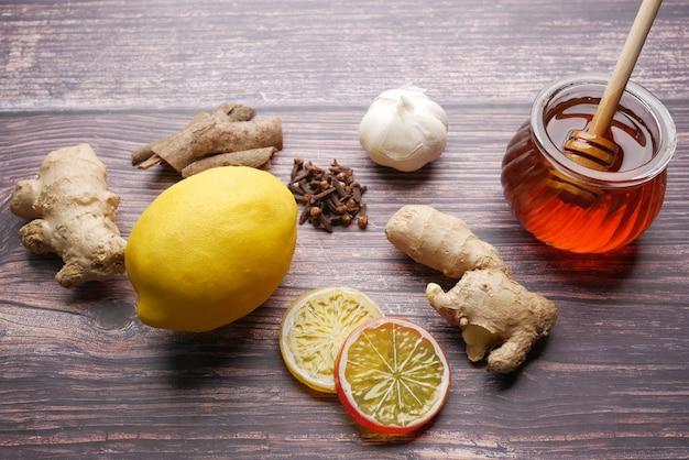 Aliments de stimulation de l'immunité et protection contre les virus