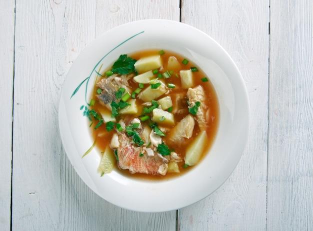 Aljotta - soupe de poisson traditionnelle maltaise