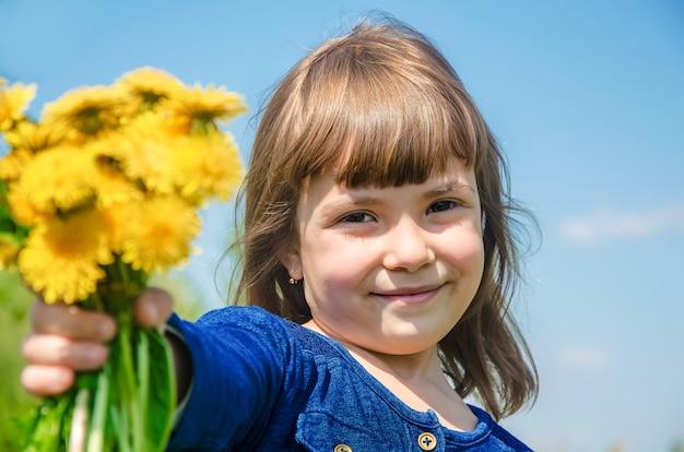 Allergie saisonnière chez un enfant