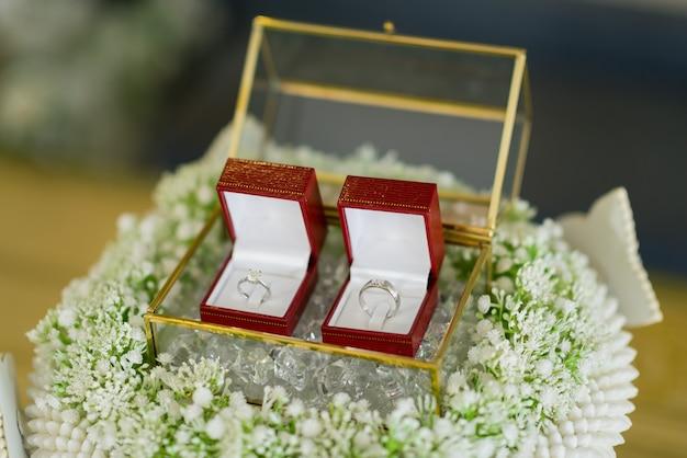 Alliance, bijoux, mariage, fiançailles
