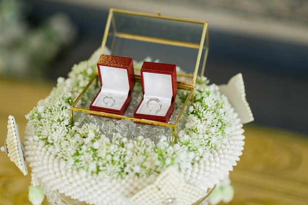 Alliance, mariage thaïlandais, bijoux, mariage, fiançailles