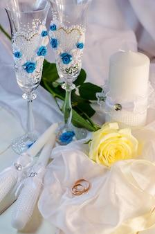 Alliances et accessoires de mariage pour mariage