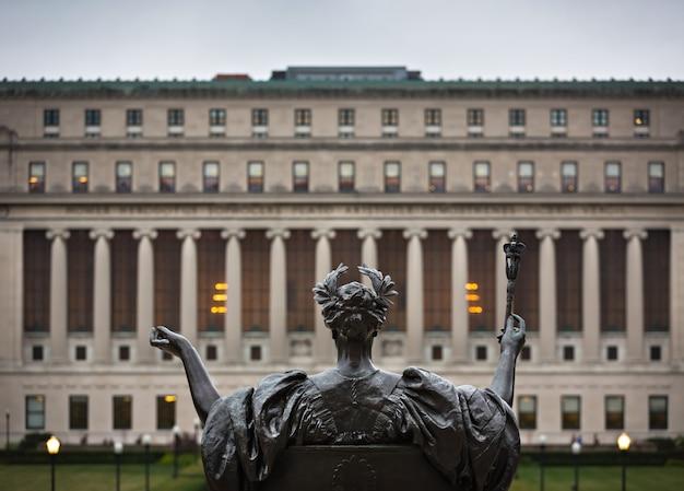 Alma mater de columbia university, new york city, états-unis