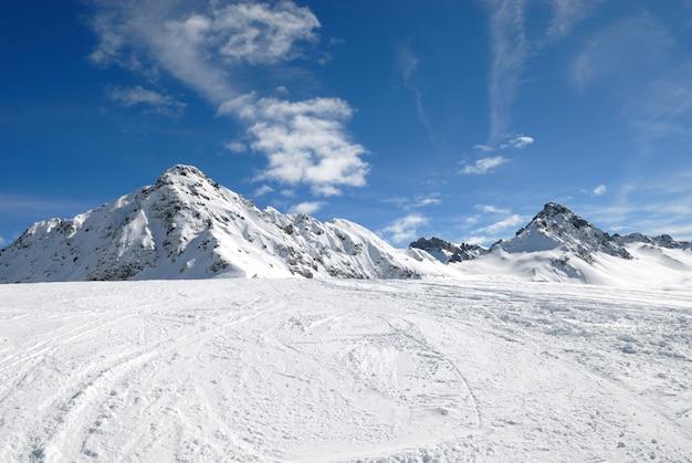 Alpes européennes en hiver