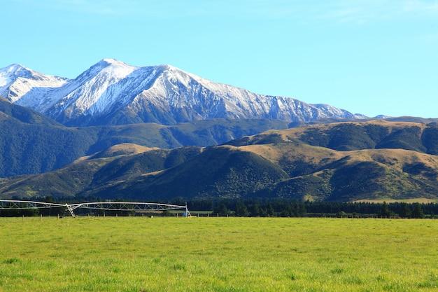 Alpes méridionales en nouvelle-zélande