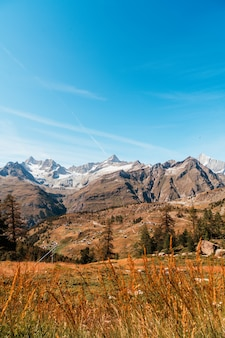 Alpes, montagnes, dans, zermatt, suisse