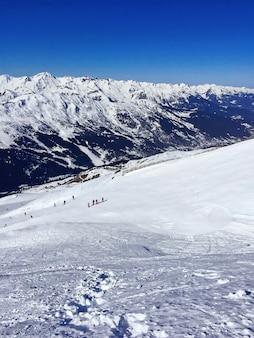 Alpes des montagnes en france