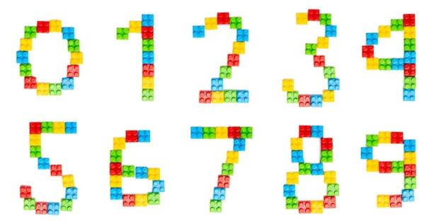 Alphabet lumineux pour la conception des enfants