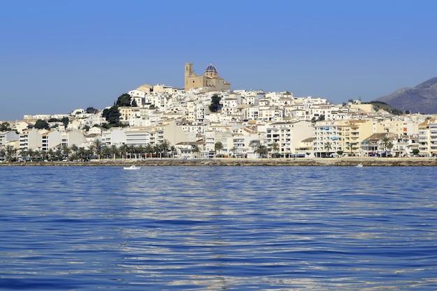 Altea alicante province espagne vue de la mer bleue