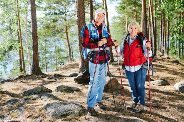 Amateurs de trekking