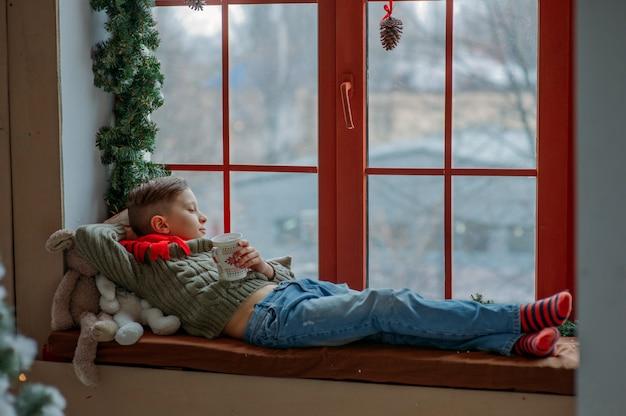 Ambiance de vacances de noël