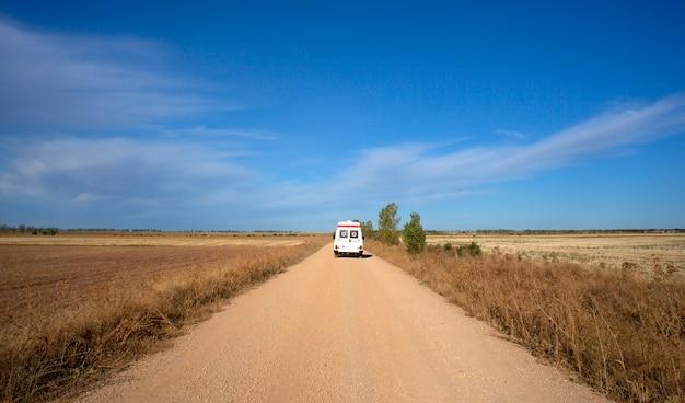 Ambulance sur le chemin de saint-jacques