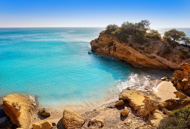 Ametlla l'ametlla de mar plage illot