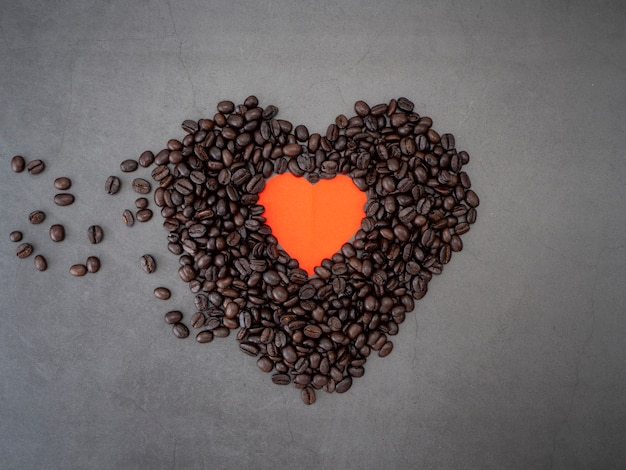 Amour coeur saint valentin bannière fond