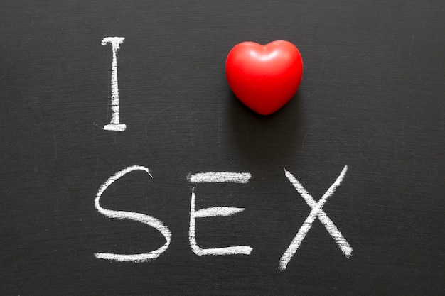 Amour signe de sexe