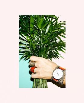 Amour vert. accessoires d'amour. amour rouge. ensemble de bijoux de mode